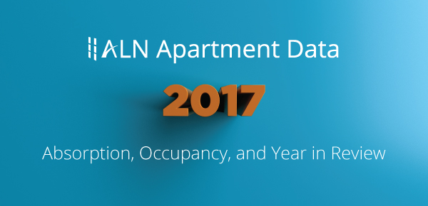 2017 Absorption, Occupancy, and Year in Review