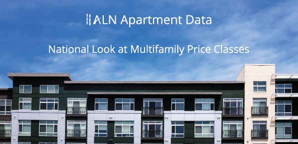 National Look at Multifamily Price Classes