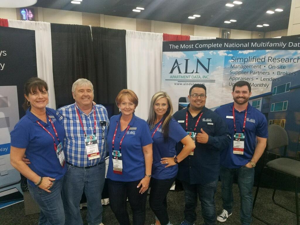 ALN Apartment Data Team at TAA 2018 Expo