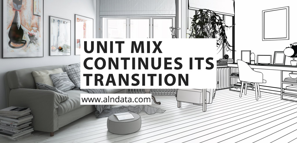 Unit Mix Continues Its Transition