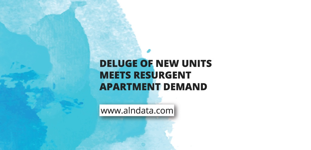 Deluge of New Units Meets Resurgent Apartment Demand