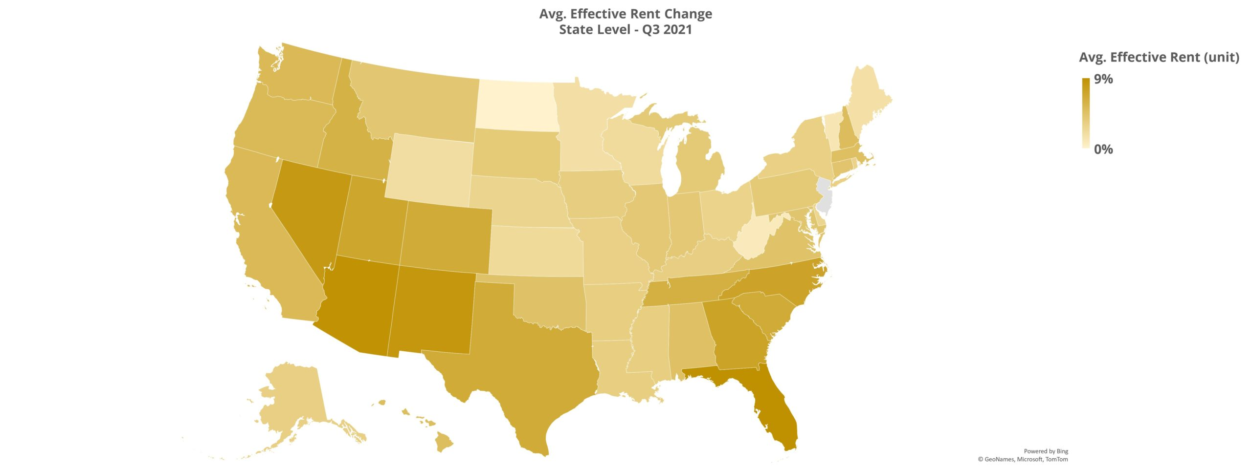 Avg. Effective Rent Change